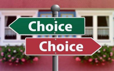 Welke keuzes durf jij niet te maken?